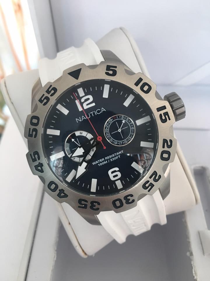 42e2ed3786e7 Reloj Nautica Ref A16616g De 48 Mm Para Caballero Original - Relojes ...