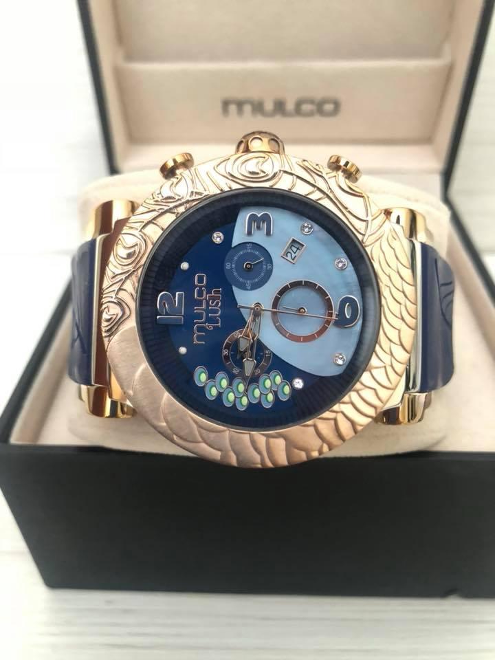 10ffa9690f34 Reloj Mulco Lush Azul De 45mm Para Dama Original - Relojes Y Oro Cucuta